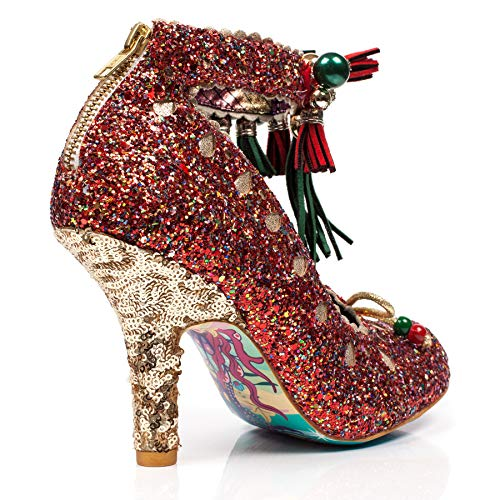 Zeppa Sandali Red Con Irregular Donna Choice E red p6wx55ntAq