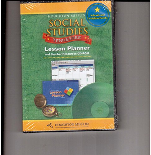 Houghton Mifflin Social Studies Tennessee: Lesson Planner Cd-Rom Package Level 1