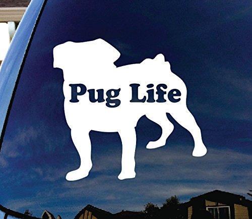 pug window decal - 5