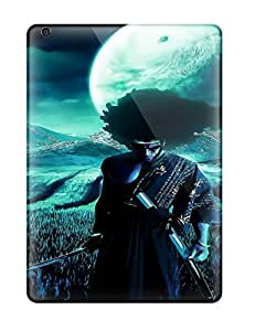 Defender Case With Nice Appearance (afro Samurai Anime Game ) For Ipad Air