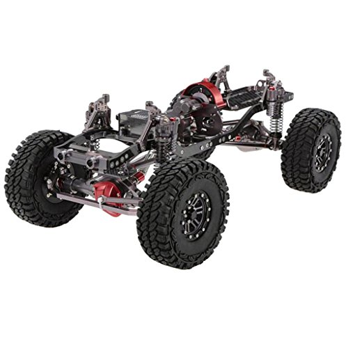 Baoblaze 1/10 RC Rock Crawler Off-Road Truck Chassis Frame Kit for Axial SCX10 90046