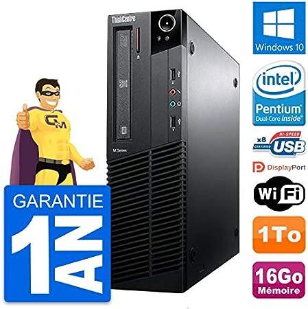 Lenovo PC ThinkCentre M81 SFF Intel G630 RAM 16 GB Disco Duro 1 TB ...