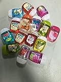 Bath & Body Works Pocketbacs (15) Sanitizing Gels Mixed Bundle (1) Free Holder