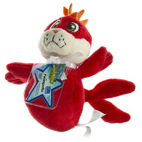 - Neopets Collector Species Series 5 Exclusive Plush with Keyquest Code Red Tuskaninny