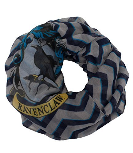 elope Harry Potter Ravenclaw Infinity Scarf for Women Blue