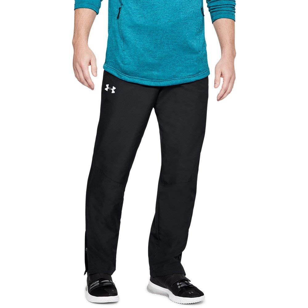 Under Armour Men's Sportstyle Woven Pants , Black /Black, Large