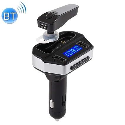 Bluetooth coche mechero Llamada V6 2 en 1 doble puertos USB ...