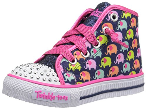 Twinkle Toes By Skechers Cheerful Chuckles Lona Zapatillas