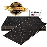 Second Skin Damplifier Premium Car Sound Deadening Material (40mil) - Butyl Rubber Auto Sound Deadener Mat (20 Sq Ft, 10 Sheets) - Made in The USA