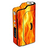 Decal Sticker Skin WRAP - Sigelei 150W Temp Control - Fire Flame El Fuego