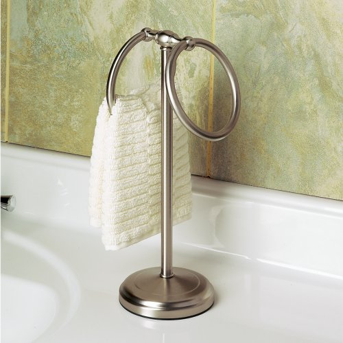 Countertop Towel Ring : Gatco 1454SN Countertop Towel Ring, Satin Nickel - Import It All