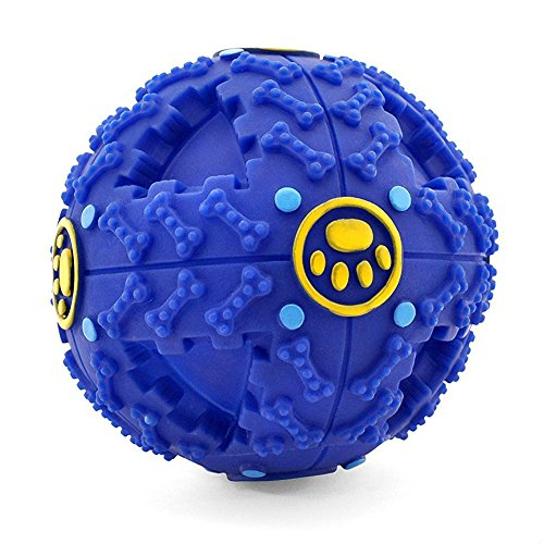 FurryFido Treat Dispensing Dog Toy, Smart Interactive IQ Ball (M)