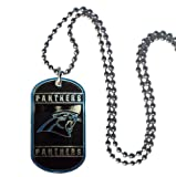 NFL Carolina Panthers Dog Tag Necklace