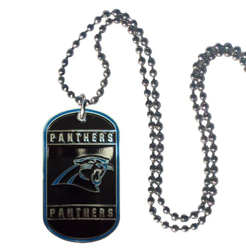 NFL Carolina Panthers Dog Tag Necklace