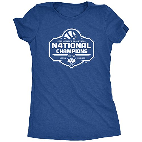 UCONN Women's 2016 National Champs White Logo Tri-Blend for sale  Delivered anywhere in USA