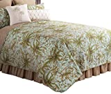 C&F Home Barbados Quilt, King, Sea