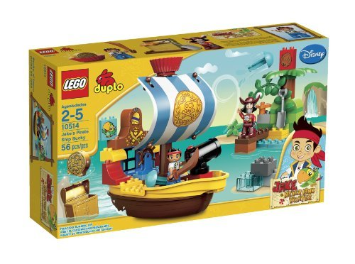 LEGO Duplo Jake's Pirate Ship Bucky by LEGO ()