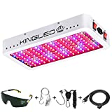 King Plus 1500W Double Chips LED Grow Light Full Spectrum for Greenhouse