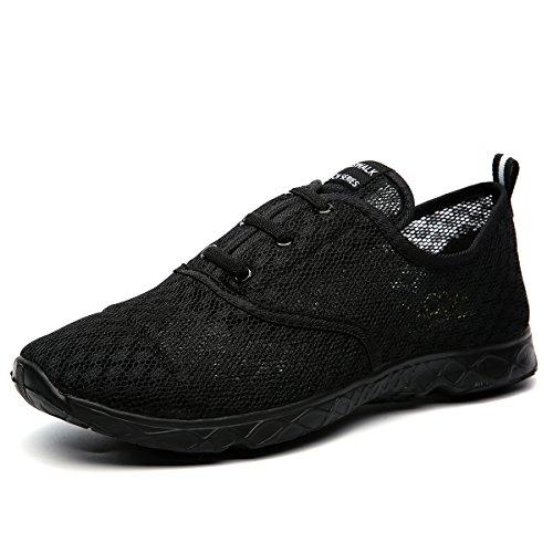 Cawani Männer schnell trocknend Aqua Wasser Schuhe Watschuhe Schwarz