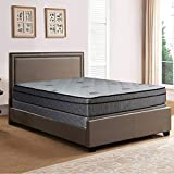 Product review for Spring Solution Foam Encased 13 INCH Eurotop SOFT Mattress, Color white/brown, Fabric Stretch Knit, With 8 Inch Wood fundation Box Spring, Size Full