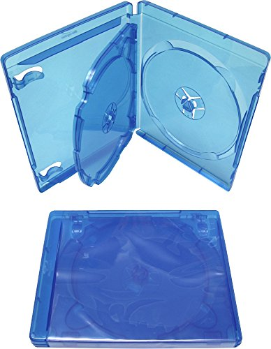 (1) Triple Blu-Ray DVD Replacement Cases - 14MM Thick