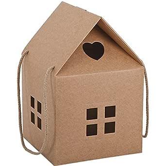 Propac z-pan20ca caja regalo cartón forma a casa, 20 x 20 x 18 cm, 20 unidades: Amazon.es: Industria, empresas y ciencia