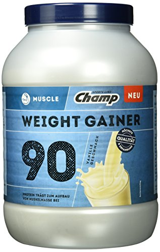 Champ Weight Gainer Vanille, 1er Pack (1 x 1.5 kg)