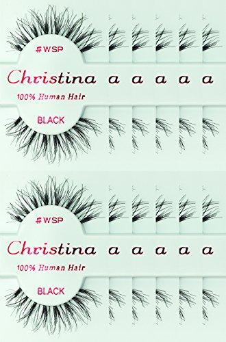 (12packs Eyelashes - #WSP (Christina))