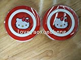 CHENRUI Wireless Charging Pad Charger for Samsung Galaxy S6、S6 edge, Compatible with all Qi-certified devices (hello kitty red)
