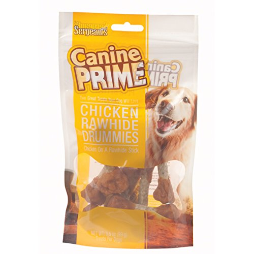 Sergeant's Chicken Drummies Dog Treat - 3.5
