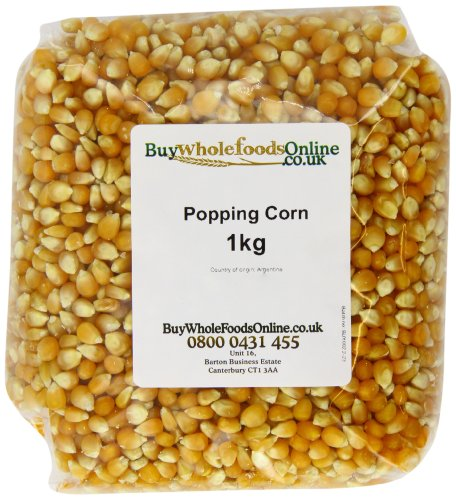 Popping Corn 1kg (Buy Whole Foods Online) by Popping