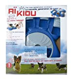 Aikiou Interactive Dog Bowl, Blue