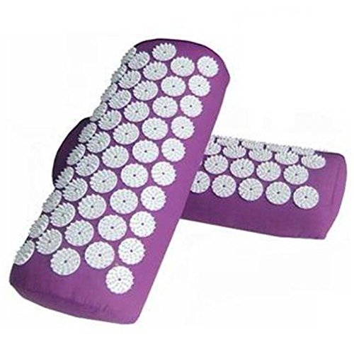 Acupressure Massage Pillow Stress Relief Bedding Neck Pain Relief Treatment Massager Neck Relaxation Health Care Tool