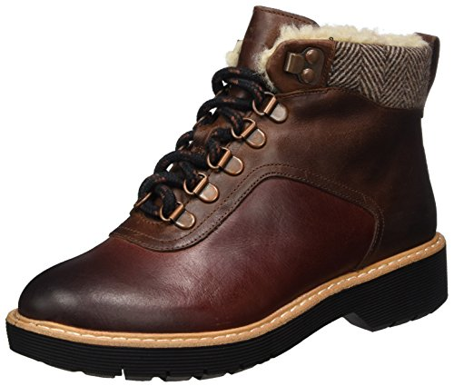 Witcombe dark Rock Stivali Clarks Lea Donna Tan Marrone gqAXqdv