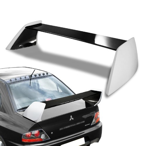 2002-2007 Mitsubishi Evolution EVO 8/9 Fiber Glass/Carbon Fiber Rear Trunk Spoiler