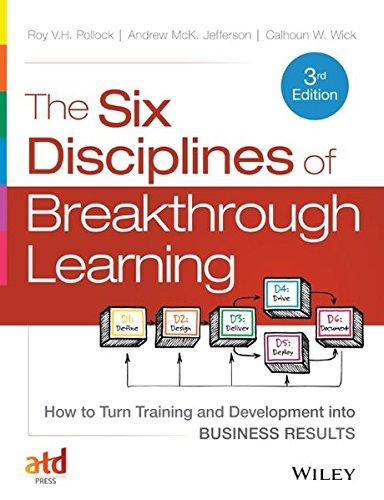 Six Disciplines Of Breakthrough...