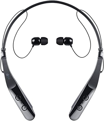 Amazon Com Lg Tone Triumph Hbs 510 Wireless Bluetooth Headset Black