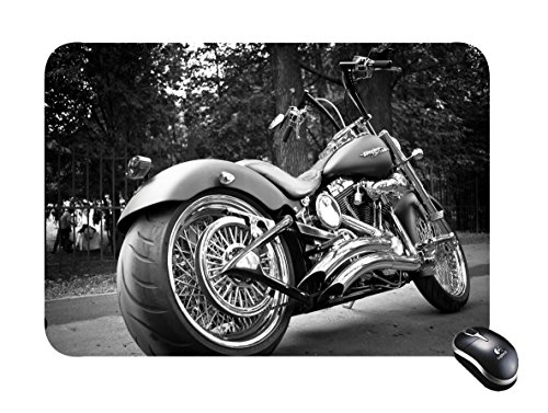 Cycle Designs (Mouse Pad Motorcycle design Rectangular Mousepad)