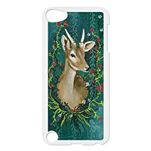Protect deer Hard Snap Cell Phone Case Cover for For ipod Touch Case 5 FKGZ466227