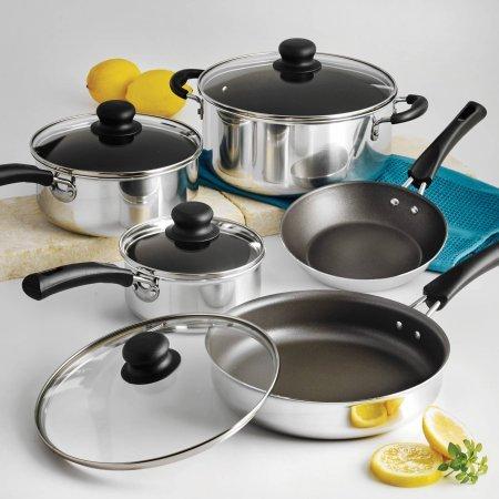 Tramontina 9-Piece Simple Cooking Nonsti - 4 Piece Sauce Pan Set Shopping Results
