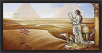 AFRICAN WILDLIFE ART PRINT Desert Lotus Michael Parkes