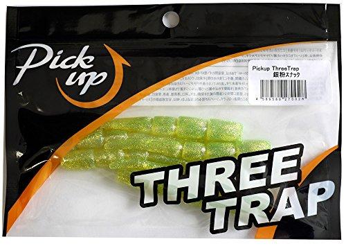 Pickup(ピックアップ) ワーム スリートラップ #002 銀粉スナック.の商品画像