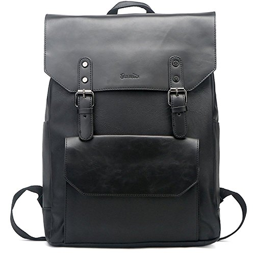aebc9974e6 Zebella Vintage Leather Backpack Bookback product image