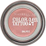 Gemey Maybelline Eyestudio Color Tattoo, Ombretto 24h, 65 Pink Gold