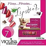 Violina Mini lipstick, 7shades