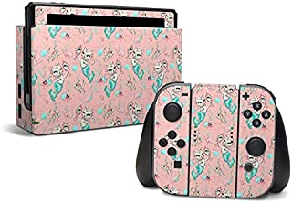 product image for Merkittens with Pearls Blush - Decal Sticker Wrap - Compatible with Nintendo Switch