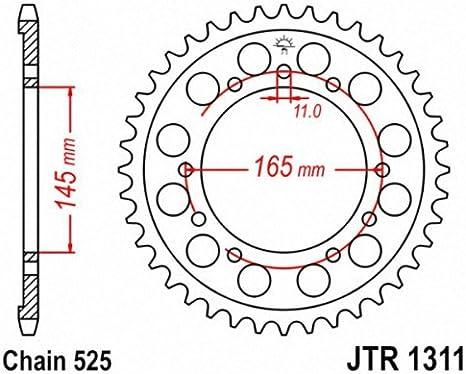 JT Sprockets JTR1311.43 43T Steel Rear Sprocket