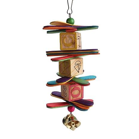 Diseño creativo Colorante comestible Bloques de madera Mascota ...