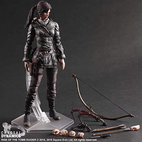 NEW hot 25cm Tomb Raider Lara Croft Enhanced version action figure toys Christmas gift collectors