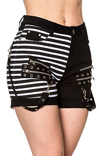 Banned-Road-To-Ruin-Womens-Alternative-Shorts